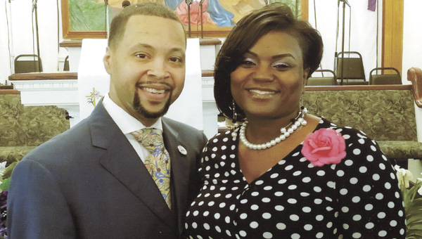 Sean Gaines, with his wife, Penny, is the new pastor at Rising St. James Pentecostal Holiness Church. (Submitted photo)