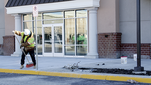 Michael's Arts & Crafts will be the first business to set up shop in Hampton Road's Crossing, Petco will be the second.