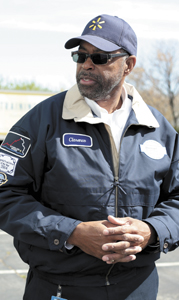 Clarence Taylor, a driver for Walmart and a member of the company's Road Team, has more than 3.3 million accident-free miles at the wheel of tractor trailers.