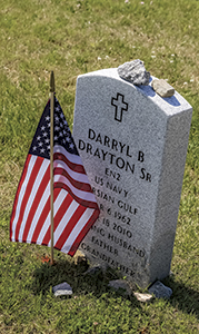 A flag is placed at each gravesite at Albert G. Horton Jr. Memorial Veterans Cemetery for Memorial Day. The effort will begin at 4 p.m. this Friday, and the public is welcomed to help.