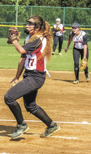 Misty Even, pictured here in a prior game, helped the Nansemond River Lady Warriors hand Kempsville a 7-1 defeat on Monday. (File Photo)