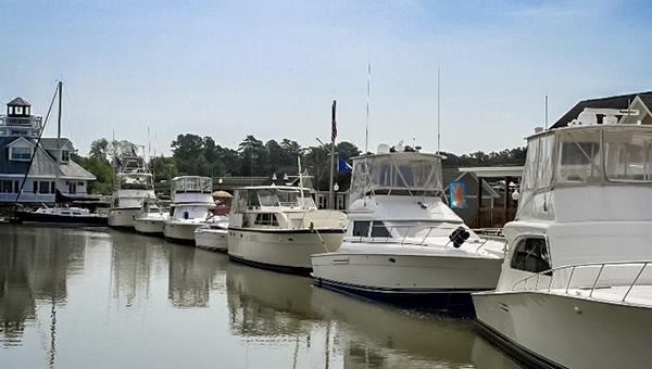 The Nansemond River Power Squadron had a dozen boats visiting Smithfield Station last weekend.