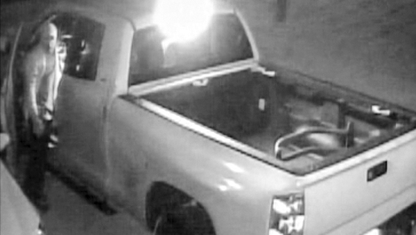 Police are asking for help locating people who tampered with a vehicle on Olde Mill Road on June 8.