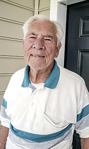 Arlin Peeples was a mechanic on landing craft used in the D-Day invasions.