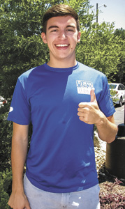 "Allyn LeTourneau has been preparing all spring for his cross-country run to raise money for cancer. He said it's been hard to train in addition to his schoolwork and two jobs, which include being a teacher assistant in the chemistry lab and writing opinions for ""The Breeze,"" James Madison University's student newspaper."