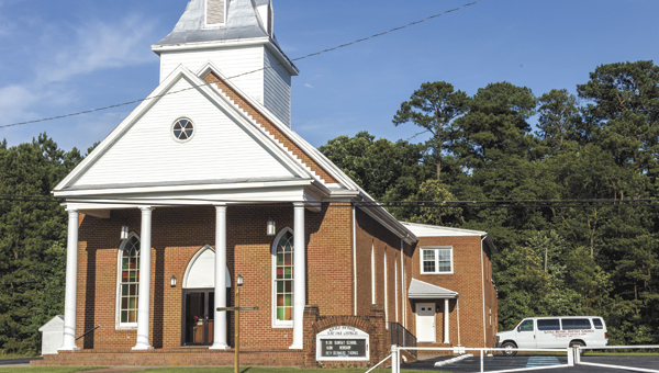 Among the weekend events commemorating Little Bethel Baptist Church's sesquicentennial anniversary will be the planting of an oak tree on the church grounds, a reflection on the founding of the church, which initially met under an oak tree.