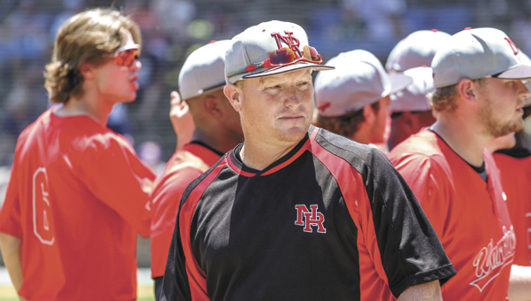 Nansemond River High School Coach Mark Stuffel has received praise from players for his guidance on and off the field that contributed to the team winning its first-ever state championship this month. (Wil Davis Photography)