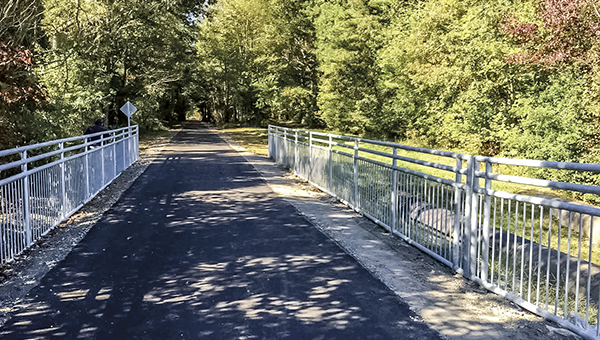Part of the Suffolk Seaboard Coastline Trail Phase IV project, which won an honorable mention award in the American Public Works Association Mid-Atlantic Chapter contest. (City of Suffolk Photo)
