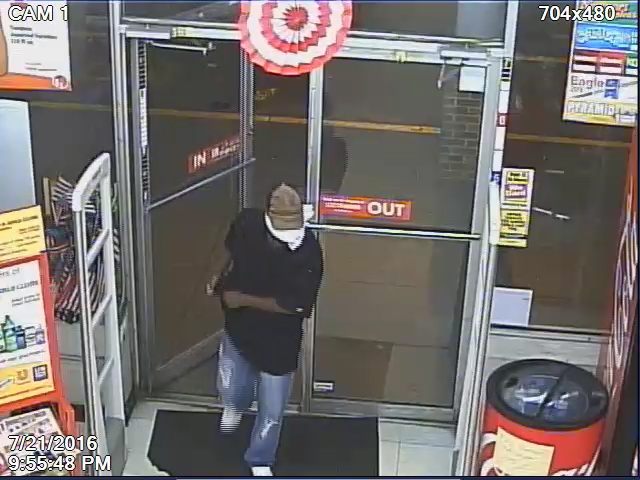 A man robbed a Family Dollar store on West Constance Road on Thursday evening.