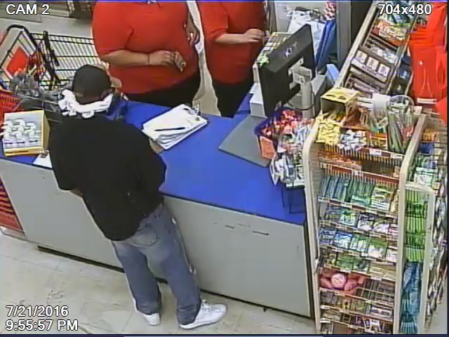 Suffolk police are asking for help in identifying this man, who robbed a Family Dollar store on Thursday evening.