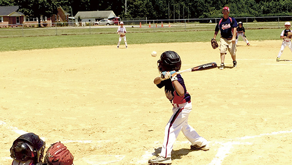 The Suffolk Youth Athletic Association Super Sevens compete in its sectional tournament on Wednesday. They pulled out a hard-fought, one-point victory against Southern Chesapeake to cap off the tournament.