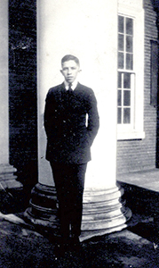 Antonio Gentile as a University of Virginia student, several years after he created Mr. Peanut. (Courtesy of Robert Slade)