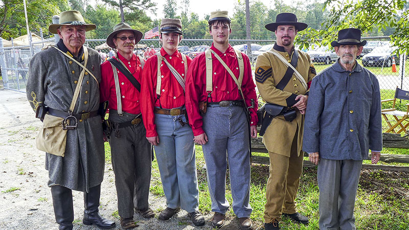 Civil War re-enactors from the 41st Va. Co. F. were on hand at the Southampton County Historical Society last year during the 22nd annual Heritage Day. The 23rd annual event is set for next Saturday.