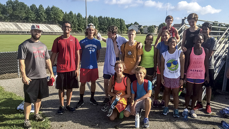 Nansemond River High School's cross country team is looking for big results this year. Coach Jason Reed said his team has worked hard in the off-season to improve their times.