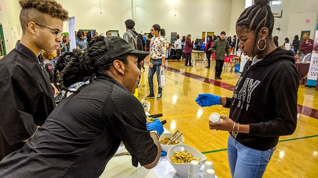 Students Explore Options At Fair